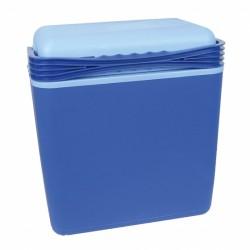 koelbox 21 liter met 12/230V stekkers blauw