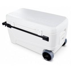 koelbox Glide Pro 110 Roller 104 liter polyetheen wit