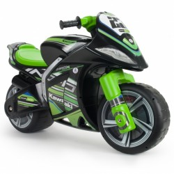 Injusa loopmotor Winner Kawasaki 99 cm zwart/groen