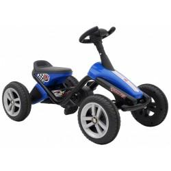 Volare Mini Go Kart 10 Inch Jongens Blauw/Zwart
