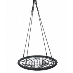 Swing King nestschommel 60 cm polyethyleen zwart