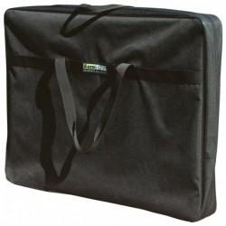 Eurotrail opberghoes campingtafel 125 x 75 x 6 cm polyester zwart