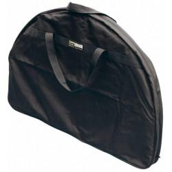 Eurotrail opberghoes campingtafel ovaal 120 x 90 x 9 cm polyester zwart