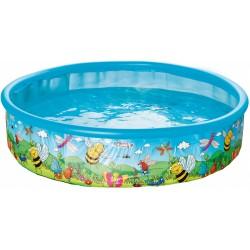 opblaaszwembad 185 x 39 cm blauw