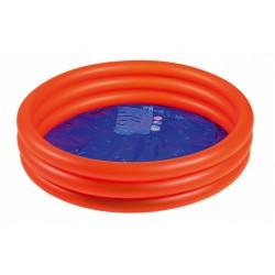 opblaaszwembad junior 100 x 30 cm rood/blauw
