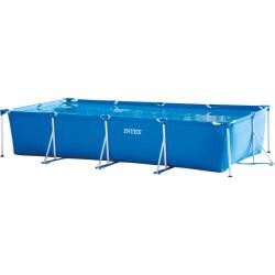 opzetzwembad met pomp 28274GN 450 x 220 cm blauw