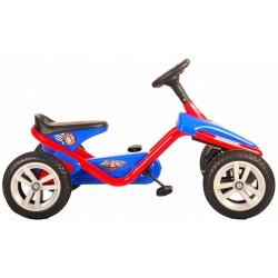 Volare Paw Patrol Mini Go Kart 10 Inch Junior Blauw/Rood