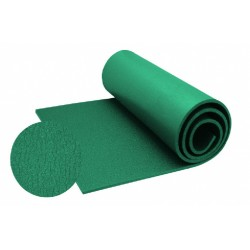slaapmat 180 x 50 cm foam groen