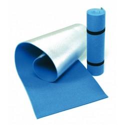 slaapmat 180 x 50 cm foam/PE/aluminium blauw