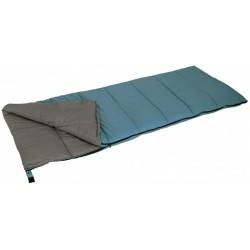 slaapzak Alaska 200 x 80 cm polyester blauw