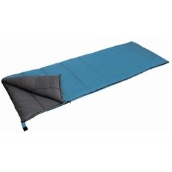 slaapzak Antartic deken 210 x 80 cm polyester blauw