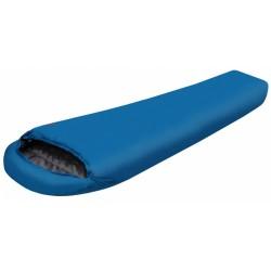 slaapzak Biker W 120 dames links -8°C 230 cm blauw