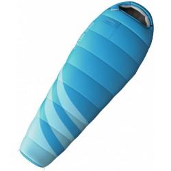 slaapzak Majesty dames 85 x 220 cm nylon blauw/grijs