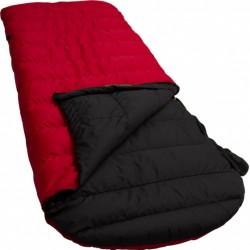 slaapzak Ranger Comfort 230 x 80 cm nylon rood/zwart