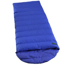 slaapzak Ranger Comfort NC 230 x 80 cm nylon blauw