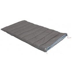 slaapzak Tay 8 polykatoen 100 x 200 cm grijs/blauw