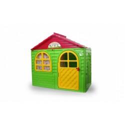 Jamara speelhuisje 130 x 78 x 120 cm groen