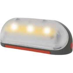 Smoby speelhuislamp Nomad Solar 15 x 5 cm grijs/grood