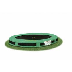 Jumpking trampoline InGround Classic 2,44 meter zwart/groen