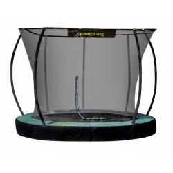 Jumpking trampoline InGround Deluxe 305 cm zwart/groen