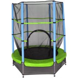 AMIGO trampoline met veiligheidsnet 139 cm lichtgroen