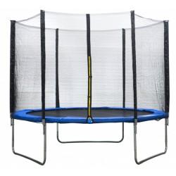 AMIGO trampoline met veiligheidsnet 244 cm blauw