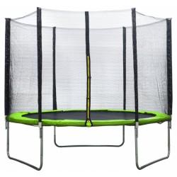 AMIGO trampoline met veiligheidsnet 244 cm lichtgroen