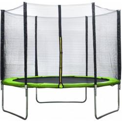 AMIGO trampoline met veiligheidsnet 305 cm lichtgroen