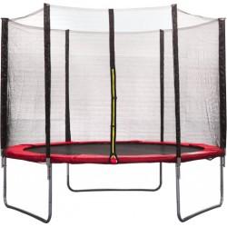 AMIGO trampoline met veiligheidsnet 305 cm rood