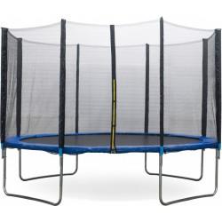 AMIGO trampoline met veiligheidsnet 366 cm blauw