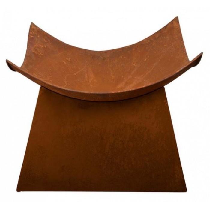Esschert Design vuurschaal 49 x 49 x 38,5 cm staal roestbruin