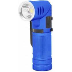 Ethos Pro werklamp led batterij 500 lumen staal blauw