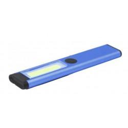 Ethos Prowerk lamp led dynamo 200 lumen staal blauw