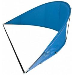 windscherm Banana Beach 310 x 70 cm polyester blauw