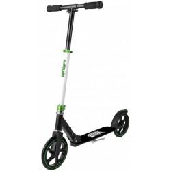 Xoo Large Wheeled stuntstep Junior Voetrem Wit/Zwart