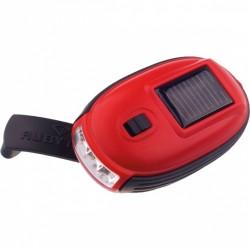 Rubytec zaklamp Kao XL led solar 8,7 x 5 cm ABS rood/zwart