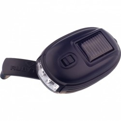 Rubytec zaklamp Kao XL led solar 8,7 x 5 cm ABS zwart