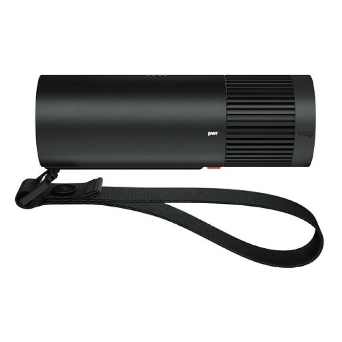Knog zaklamp PWR Explorer led oplaadbaar 2000 lm 13,7 cm zwart