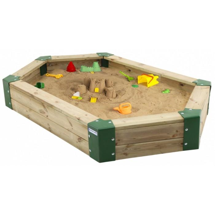 zandbak junior 210 x 120 x 25 cm hout naturel
