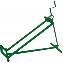 zitmaaier-lift 106 x 30 cm staal groen